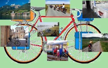 In bici e treno dal Delta del Po a Bolzano