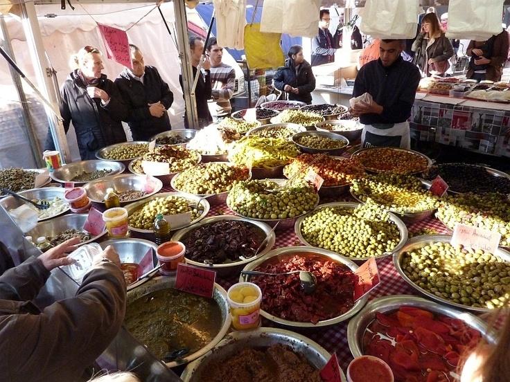 Bruxelles marchés tournée