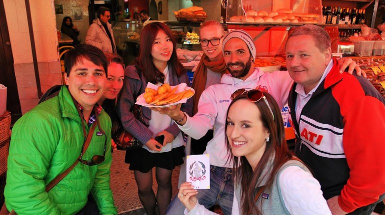 Tour del cibo di strada palermitano